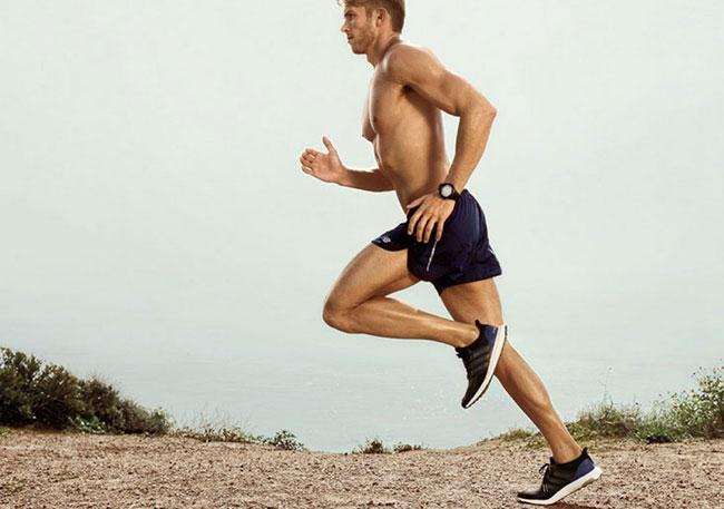 Chạy bộ giúp săn chắc cơ bắp