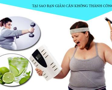 Tại sao bạn thất bị khi giảm cân