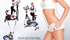 Xe đạp tập toàn thân giảm cân loại nào tốt nhất