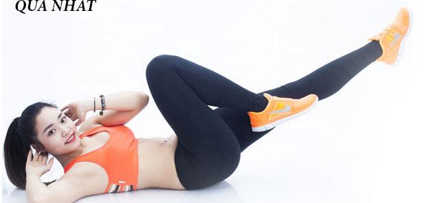 Những bài tập giảm mỡ bụng hiệu quả nhất