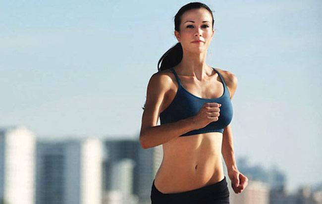 Chạy bộ giảm mỡ bụng hiệu quả