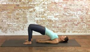 Tư thế Bridge Pose - Yoga cho người mới bắt đầu