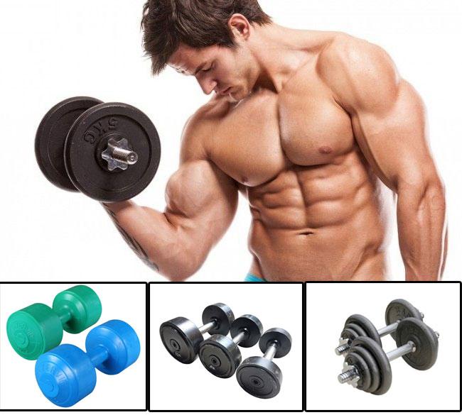 Quả tạ tay - Dụng cụ tập Gym tại nhà
