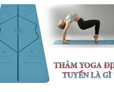 Thảm Yoga định tuyến là gì