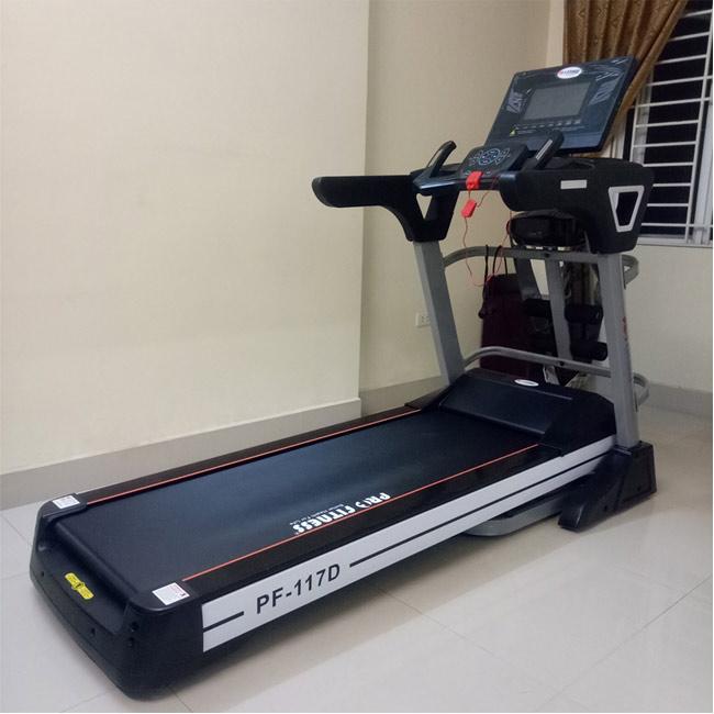 Máy chạy bộ Pro Fitness PF-117D